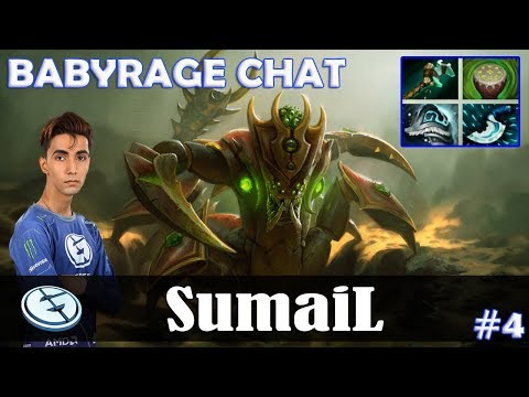 SumaiL - Sand King Offlane | BABYRAGE CHAT | Dota 2 Pro MMR Gameplay #4