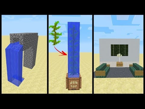 Minecraft: 1.13 СЕКРЕТНЫЕ ЛАЙФХАКИ ДЛЯ НУБА как построить в Майнкрафте троллинг постройка Майнкрафт
