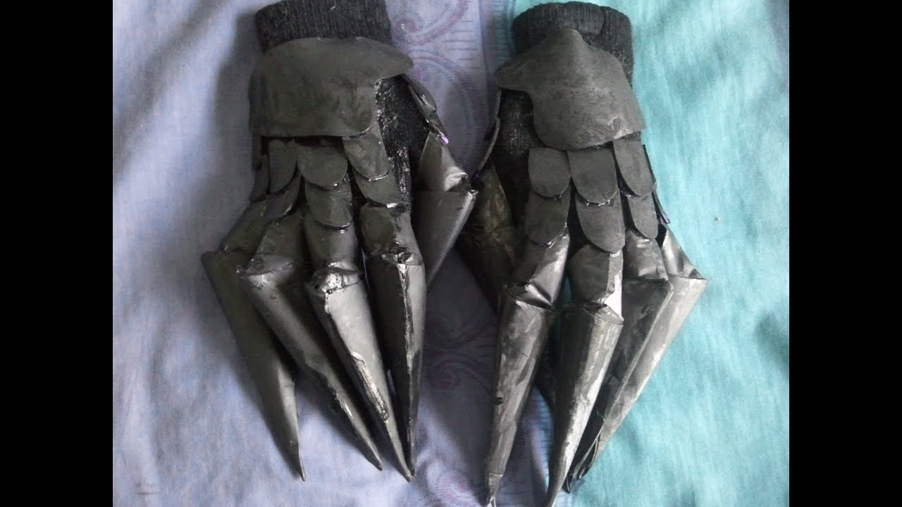 Tutorial How To Make Dead Master Gloves Youtube
