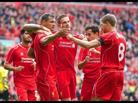 Liverpool 2-1 Southampton All Goals & Highlights HD ~ 17.08.2014