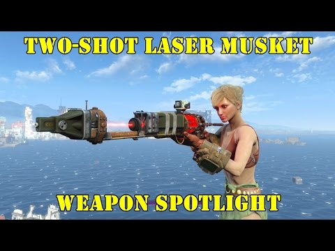 Fallout 4: Weapon Spotlights: Two-Shot Laser Musket