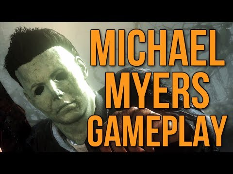 Michael Myers Gameplay & Fog Map - CoD Ghosts Onslaught DLC