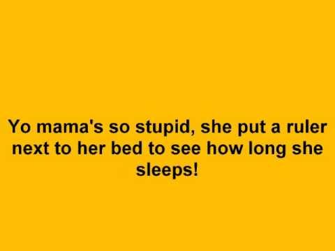 Very funny yo mamma jokes youtube