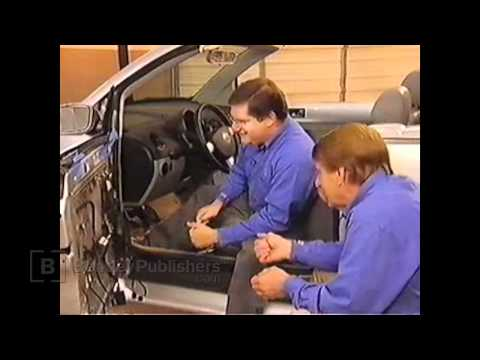 VW New Beetle Convertible 2003-2010  - Door window regulator DIY, how to remove and adjust