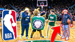 I Performed At The Bucks VS Lakers NBA Game!