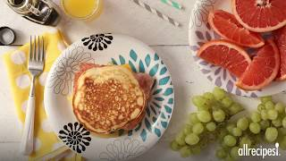 How to Make Leftover Pancake Breakfast Sandwiches | Breakfast Recipes | Allrecipes.com