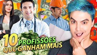 AS 10 PROFISSÕES que ganham MAIS DINHEIRO no Brasil
