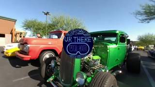 Visit a Las Vegas Car Show and peek inside of the cars in 3D VR 180.
