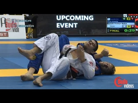 "Clark Gracie vs Marcelo ""Lapela"" Mafra Pan 2013 Jiu Jitsu Middleweight Finals OFFICIAL"