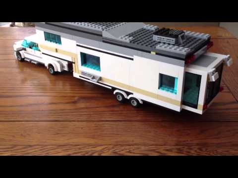 This Man Made A Class A Motorhome Out Of LEGOs. It's Even Got Two ...