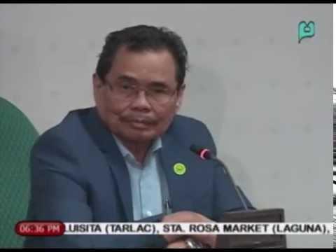 Iqbal: Bangsamoro Basic Law, susi sa kapayapaan sa Mindanao    Feb. 12, 2015