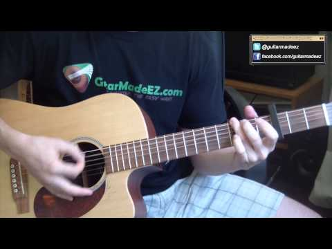 One Direction - The Story Of My Life - Guitar Tutorial (you'll Be Playing In No Time!!!) video