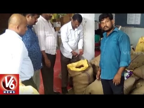 Vigilance Officials Raids On Seed Companies In Telangana | Seizes Fake Seeds | V6 News