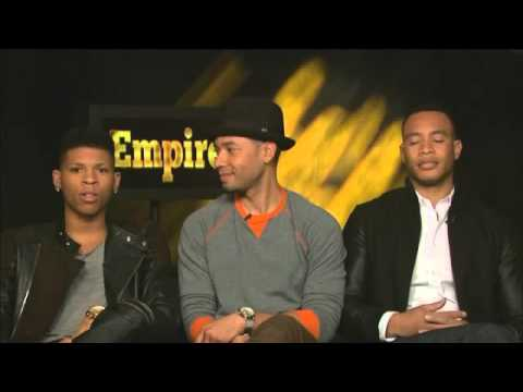 Cast members of hit show Empire