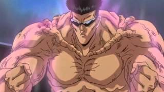 toguro defeats all the spirit warriors single handedly