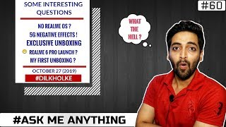 #Ask Ruhez- Exclusive Unboxing,Redmi K30 5G India,Realme 6 Pro,No Realme OS,5G Effect On Environment