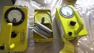 Prepping 101: Testing Civil Defense Survey Meters with Cesium-137 - CDV-715, CDV-717
