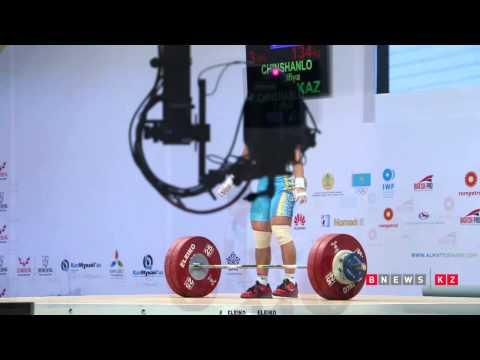 Зульфия Чиншанло — чемпионка мира с новым рекордом   Атлетика_видео Руслана Канабекова