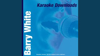 Watch Barry White Baby We Better Try To Get It Together video