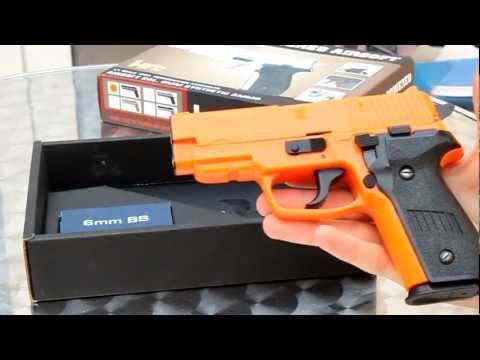 BB gun unboxing - Sig P226 - Airsoft - unboxing