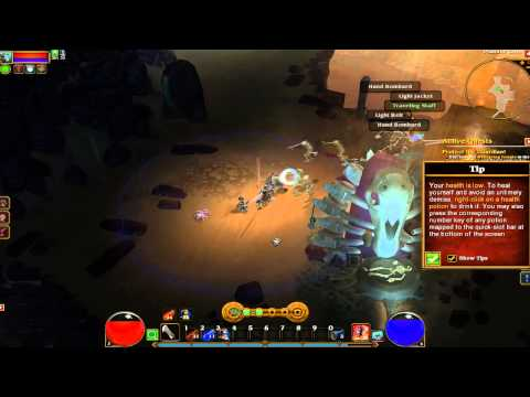 Torchlight 2 BETA - Gameplay parte 2