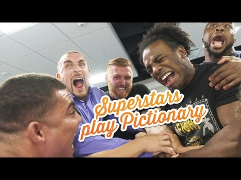 The craziest game of Pictionary ever: WWE Game Night