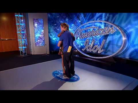 Nashville Hopeful Slow-Dances With Jennifer - AMERICAN IDOL SEASON XIV