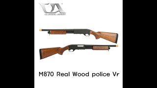 CLASSIC ARMY M870 POLICE REVIEW - 스와트모형 www.swatmodel.co.kr