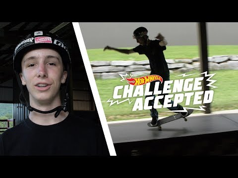 Nose Manual The Boxes And 180 Off - Hot Wheels Challenge Accepted
