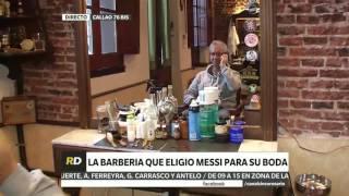 CANAL 5 ROSARIO ROSARIO DIRECTO EL BARBERO ELEGIDO POR MESSI