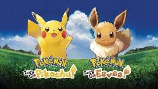 POKÉMON LET'S GO - Gameplay do Início, com Pikachu! | Ao Vivo