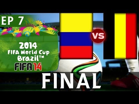 [TTB] 2014 FIFA World Cup Brazil - Colombia Vs Belgium - WORLD CUP FINAL - EP7