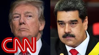 Venezuelan president breaks diplomatic ties with US
