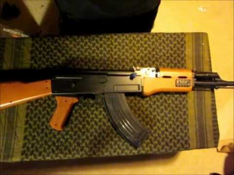Spring CYMA ak47 Airsoft Rifle review