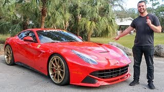 Ferrari F12 Review - BETTER Than A Lamborghini Aventador?