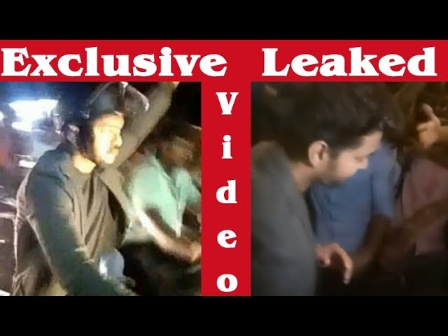 Exclusive Video : Thalapathy 62 Leaked Bike Riding Shooting Video | Vijay 62 Shooting