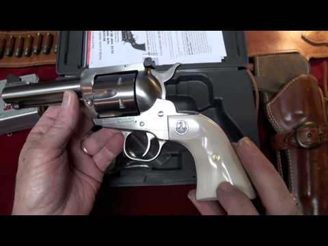 Ruger BlackHawk Convertible .45 Revolver Review