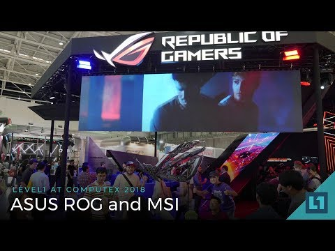 Computex 2018: ASUS ROG and MSI