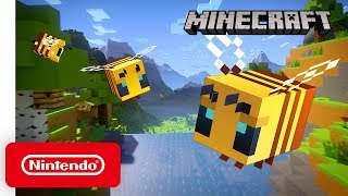 Minecraft - Buzzy Bees: Official Trailer - Nintendo Switch