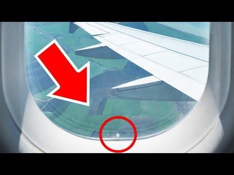 Yolcu Uçaklarında Pek Dikkat Edilmeyen 10 Şey
