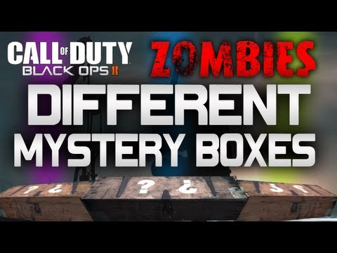 Black Ops 2 Zombies: Mystery Boxes!!! (Trailer Clue?)
