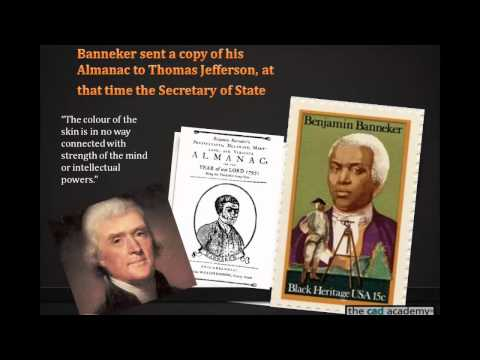 Benjamin Banneker 4th in a series of 5 great inventors