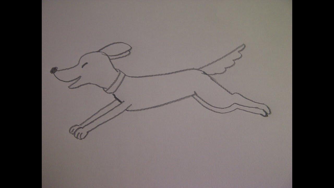 Ютуб Как нарисовать человека на бегу поэтапно