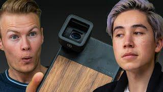 The Anamorphic Lens - Transform Your Smartphone Camera Into A R.E.D Camera