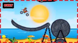 Chơi Moto x3m Thử thách lái mô tô nhào lộn né chướng ngại vật cu lỳ chơi game lồng tiếng vui nhộn