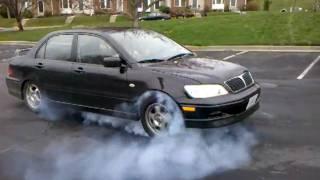 oz rally lancer burnout