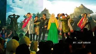 Siti Nordiana & Syamel AF - Gerua (Live Anugerah Meletop Era 28/02/2016)