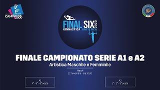 Napoli - Finale Campionato italiano Serie A2 M/F e 4°/6° Serie A1 M/F