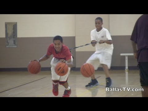 Tremont Waters CRAZY Guard Workout - 14 yr old compared to Chris Paul