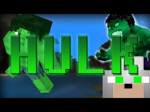 Minecraft Mods - Super Hero Mod - Hulk 1.4.5 Review and Tutorial -BECOME A MONSTER